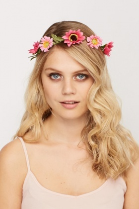 Two Tone Daisy Headband