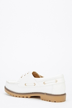 Lace Up Boat Shoes