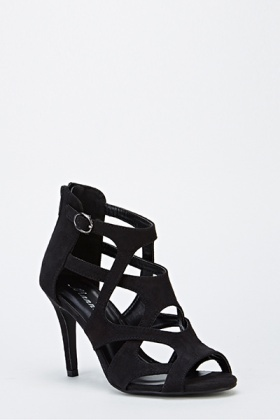 b3730a3b9 Mid Heel Cut Out Sandals - Just £5