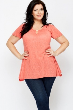 Speckled Orange Top