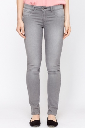 Long Leg Slim Stretch Jeans