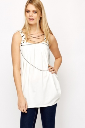 Chain Embellished Tunic