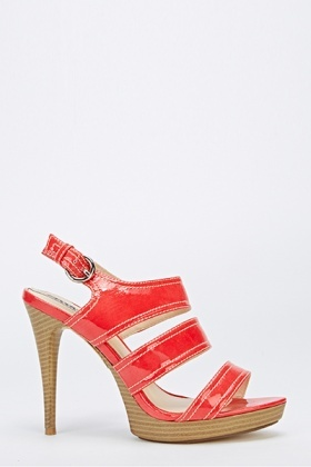 Strappy Sandal Tapered Heels