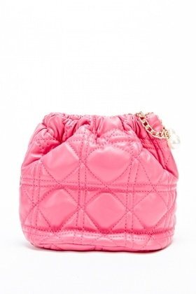 Quilted Mini Pouch Bag