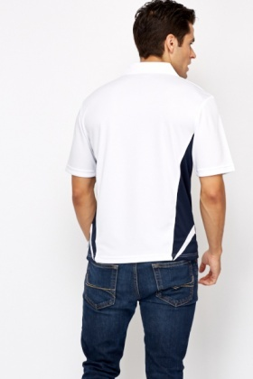 Collared Contrast T-Shirt