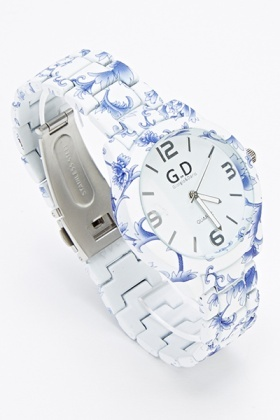 Contrast Floral Watch