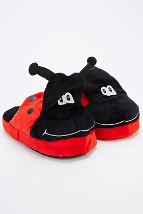 Lady Bug Slippers