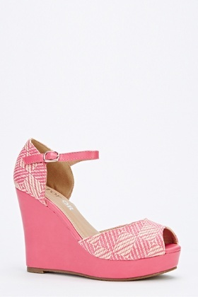 Woven Strap Wedges