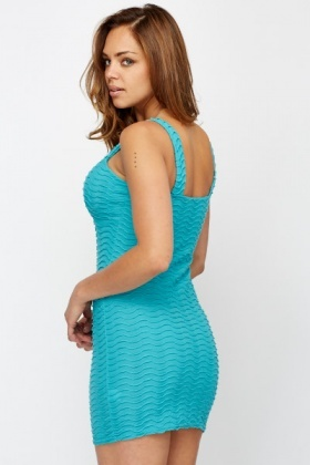 Ribbed Bodycon Party Dress