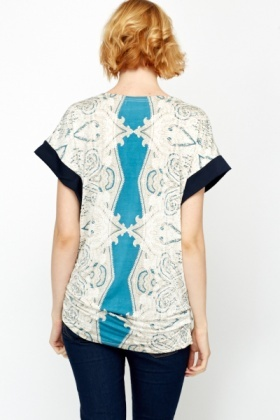 Ornate Print Tunic