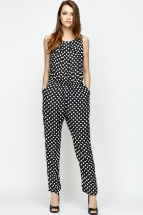 Hope, polka dot jumpsuit apologise, but