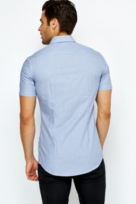 Blue Grid Shirt