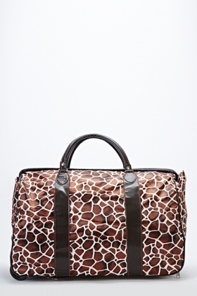 Giraffe Travel Luggage Bag