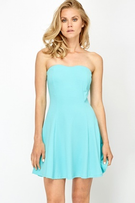 Swing Bandeau Party Dress