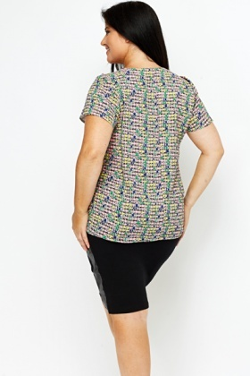 Colour Grid Top