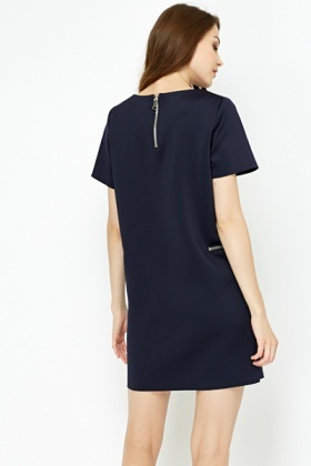 Scuba Shift Dress