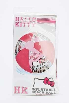 Hello Kitty Inflatable Beach Ball
