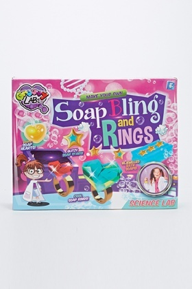Make Your Own Soap Bling And Rings Kit