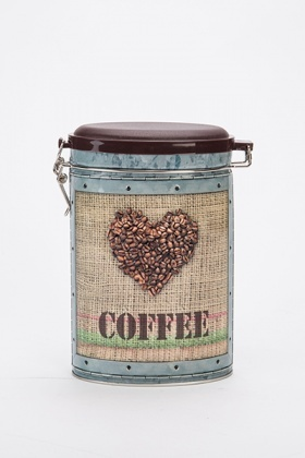 Printed Coffee Tin