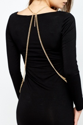 Gold Layered Body Chain
