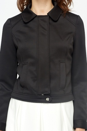 Zip Up Scuba Jacket