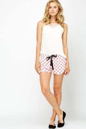 Polka Dot Runner Shorts