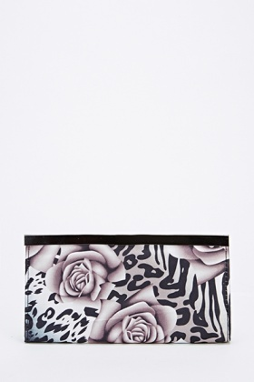 Rose Contrast Purse