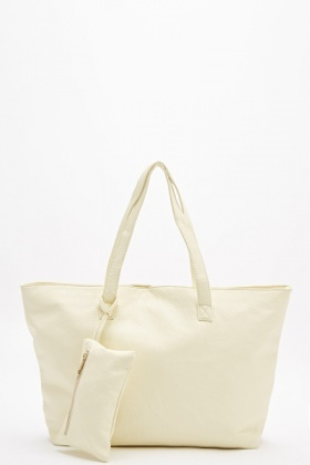 Large Tote Bag With Purse