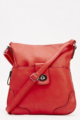 Twist Lock Shoulder Bag