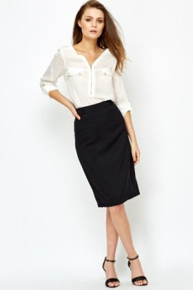 Formal Black Skirt - Just £5