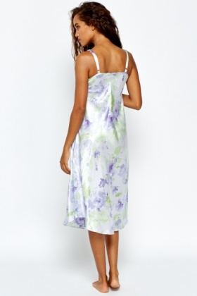 Floral Lilac Night Dress