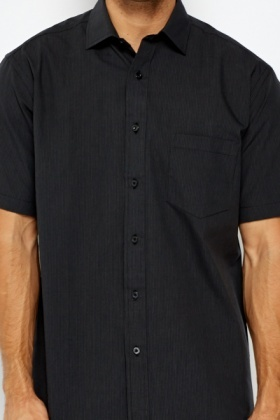 Charcoal Button Up Shirt