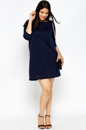 Navy Tunic Dress
