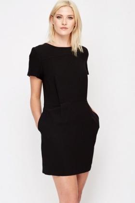 Formal Black Tunic Dress - Just £5