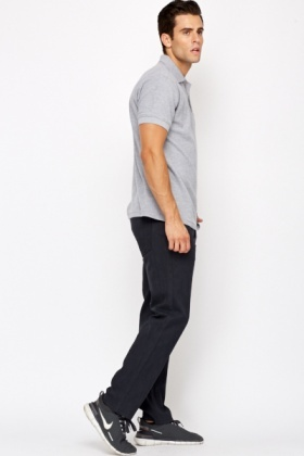 Cotton Wide Leg Mens Jeans