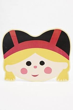 Its A Small World German Girl Placemat