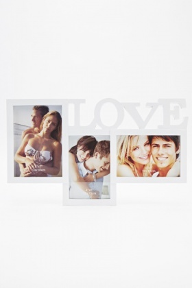 Love Collage Photo Frame