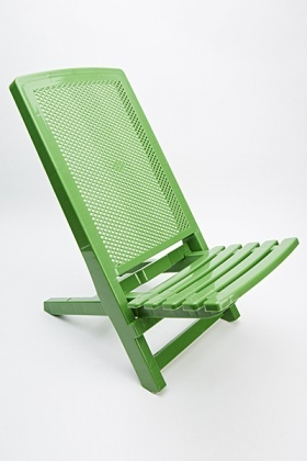 Plastic Deck Chair