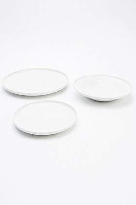 Three Piece Plate Set