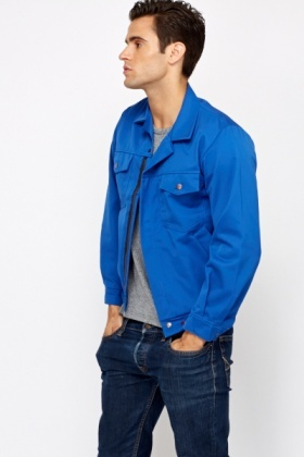 9d51239cf5467 Mens Royal Blue Hardwear Jacket - Just £5