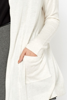 Cotton Long Line Cardigan - Just £5