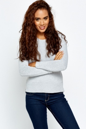 Hooded Knitted Jumper