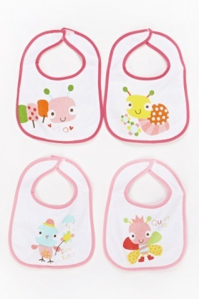Flannel Animal Baby Bibs