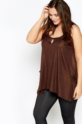 Shimmer Sleeveless Tunic