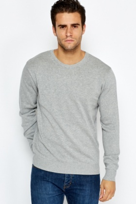 Ribbed Panel Jumper