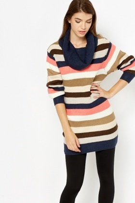 Colourful Stripy Jumper