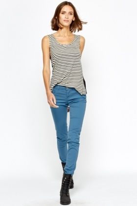 Middle Blue Skinny Jeans