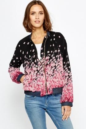 Floral Bomber Jacket - Just £5