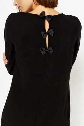 Bow Back Mono Dress