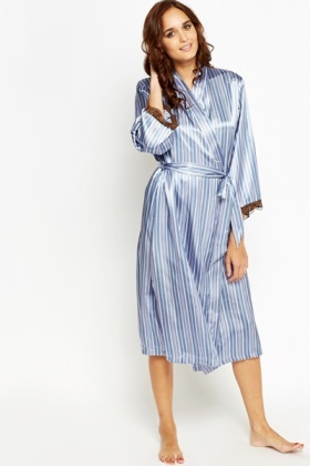 Striped Night Gown
